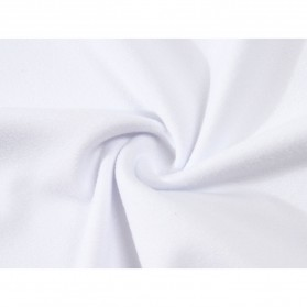 Kaos Polos Katun Pria Lengan Pendek O Neck Size S - 85606 / T-Shirt - Black - 8