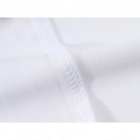 Kaos Polos Katun Pria Lengan Pendek O Neck Size S - 85606 / T-Shirt - Red - 11