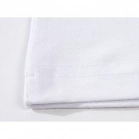 Kaos Polos Katun Pria Lengan Pendek O Neck Size M - 85606 / T-Shirt - Red - 9
