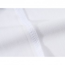 Kaos Polos Katun Pria Lengan Pendek O Neck Size M - 85606 / T-Shirt - Red - 11