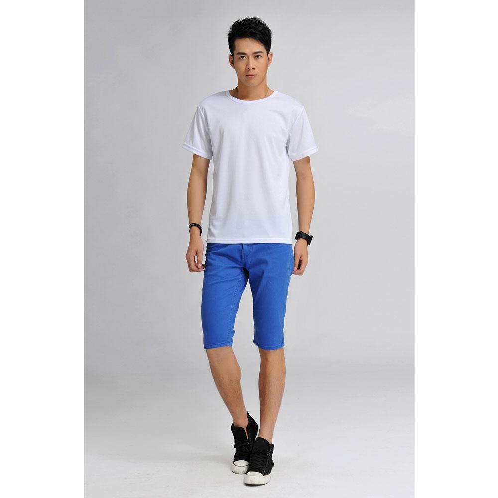 ... Baju Olahraga Mesh Pria O Neck Size S - 85301   T-Shirt - White ... 825ae960bf