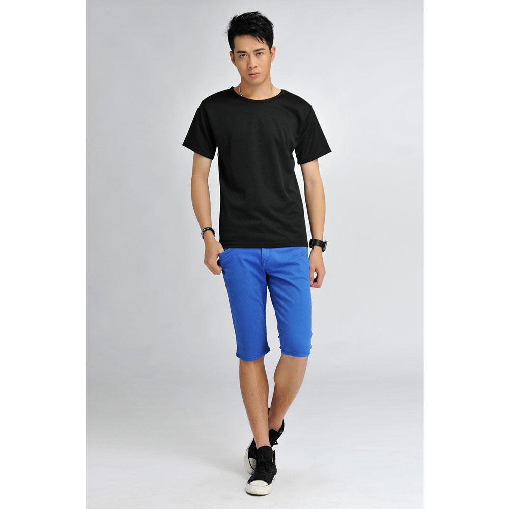 ... Baju Olahraga Mesh Pria O Neck Size XL - 85301   T-Shirt - Black ... 7f8ee656ed