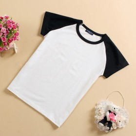 Baju Olahraga Mesh Pria O Neck Size XL - 85302 / T-Shirt - Black - 5