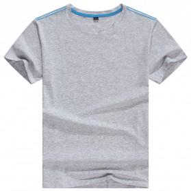 Kaos Polos Katun Wanita O Neck Size S - 81401B / T-Shirt - Gray