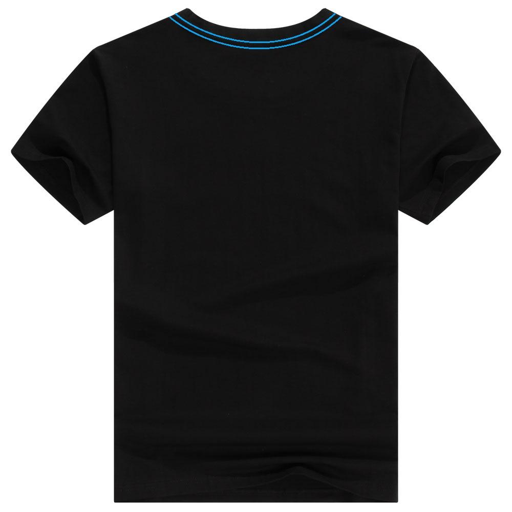 Kaos Polos Katun Pria Neck Size Or Shirt Black 221 Baju Hitam
