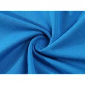 Kaos Polos Katun Pria O Neck Size S - 81402B / T-Shirt - White - 6