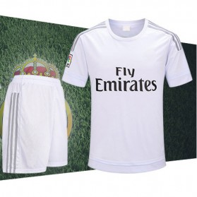 Jersey Sepakbola Real Madrid No 7 Ronaldo Size M - White - 9
