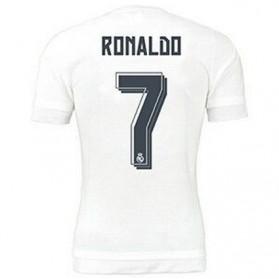 Jersey Sepakbola Real Madrid No 7 Ronaldo Size L - White - 4
