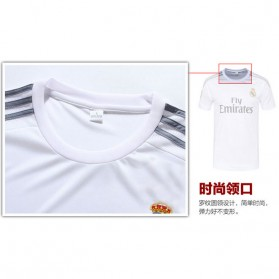 Jersey Sepakbola Real Madrid No 7 Ronaldo Size L - White - 8