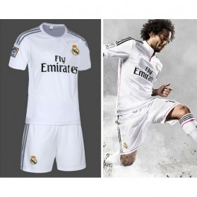 Jersey Sepakbola Real Madrid No 7 Ronaldo Size L - White - 10