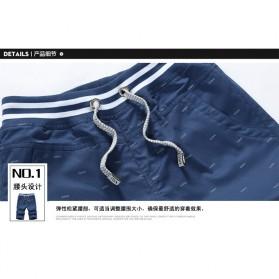 Celana Chinos Pendek Pria Size XL - Dark Blue - 5