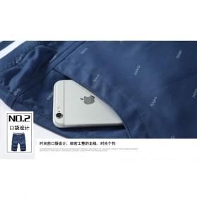 Celana Chinos Pendek Pria Size XL - Dark Blue - 6