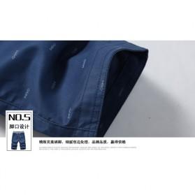 Celana Chinos Pendek Pria Size XL - Dark Blue - 9