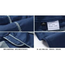 Celana Chinos Pendek Pria Size XL - Dark Blue - 10