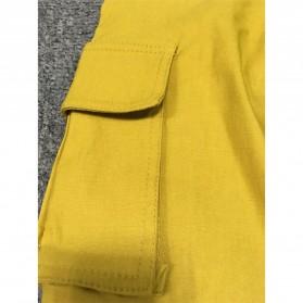 Celana Panjang Casual Wanita Polyester Size S - Cream - 5