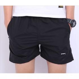 Jie Te Si Celana Pantai Santai Pria Anti-UV Size L - GD-K30 - Black