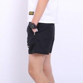 Jie Te Si Celana Pantai Santai Pria Anti-UV Size L - GD-K30 - Black - 4