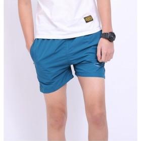 Jie Te Si Celana Pantai Santai Pria Anti-UV Size L - GD-K30 - Blue - 3