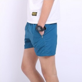 Jie Te Si Celana Pantai Santai Pria Anti-UV Size L - GD-K30 - Blue - 4