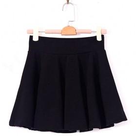 Rok Mini Wanita High Waist Skirt All Size - Black - 6