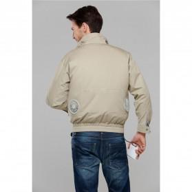 Jaket AC Kipas Pendingin Cooling Fan Air Conditioner Summer Jacket - Size XL - Blue - 2