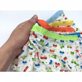Celana Dalam Anak Pria Size M - Multi-Color - 7