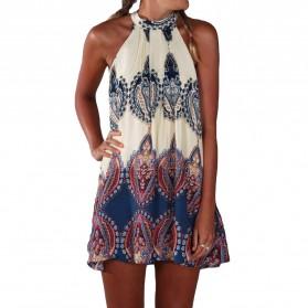 Dress Pantai Wanita Beach Summer Style Size M - Beige