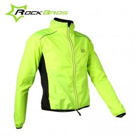 Rockbros Jaket Gunung Rain Windcoat Size L - Green - 1