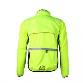 Rockbros Jaket Gunung Rain Windcoat Size L - Green - 2