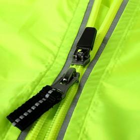 Rockbros Jaket Gunung Rain Windcoat Size L - Green - 3