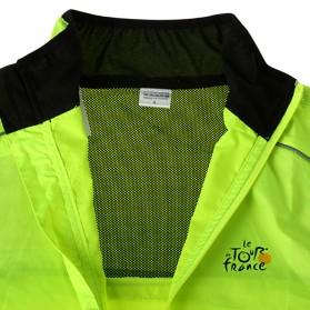 Rockbros Jaket Gunung Rain Windcoat Size L - Green - 4
