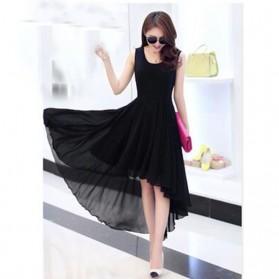 Dress Wanita Chiffon Dovetail Style Size L - Black