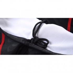Celana Renang Pria Sharkskin Swimming Trunk Pants Size XL - Red/Black - 7