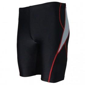 Feihe Celana Renang Pria Professional Swimming Trunk Pants - FH1208 - Size XL - Black