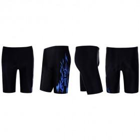 Youyou Celana Renang Pria SPA Beach Swimming Trunk Pants Size L - M9 - Black - 2
