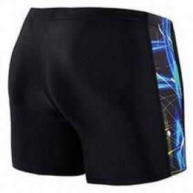 NABEIMEI Celana Renang Pria Swimming Trunk Pants Size XL - Black/Blue - 2