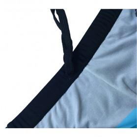 NABEIMEI Celana Renang Pria Swimming Trunk Pants Size XL - Black/Blue - 4