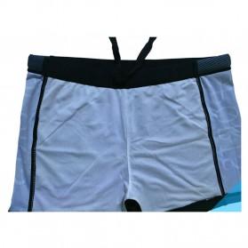 NABEIMEI Celana Renang Pria Swimming Trunk Pants Size XL - Black/Blue - 5