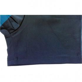 NABEIMEI Celana Renang Pria Swimming Trunk Pants Size XL - Black/Blue - 6