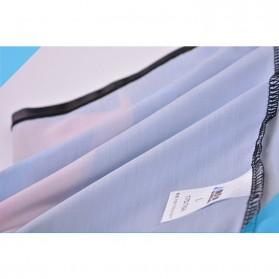 NABEIMEI Celana Renang Pria Swimming Trunk Pants Size XL - Black/Blue - 7