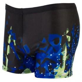 Celana Renang Pria Swimwear Pants All Size - Black Blue - 1