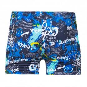 Celana Renang Pria Swimwear Pants All Size - Black Blue - 3