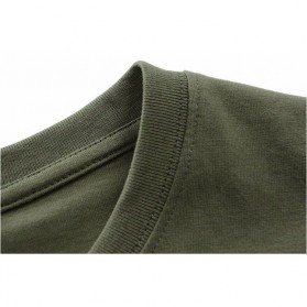 Kaos Katun Pria JEEP O Neck Size L - Army Green - 3