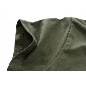 Kaos Katun Pria JEEP O Neck Size L - Army Green - 5