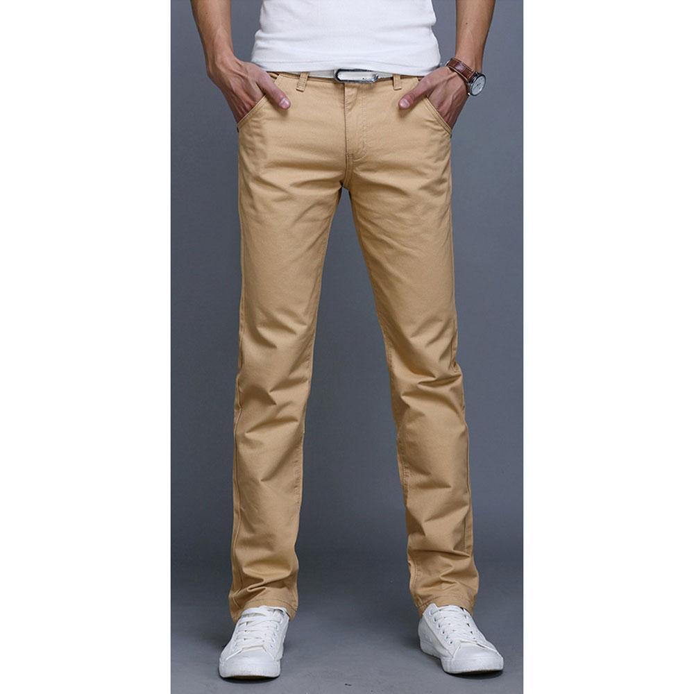 ... Celana Chinos Panjang Pria Size 28 - Cream - 1 ...