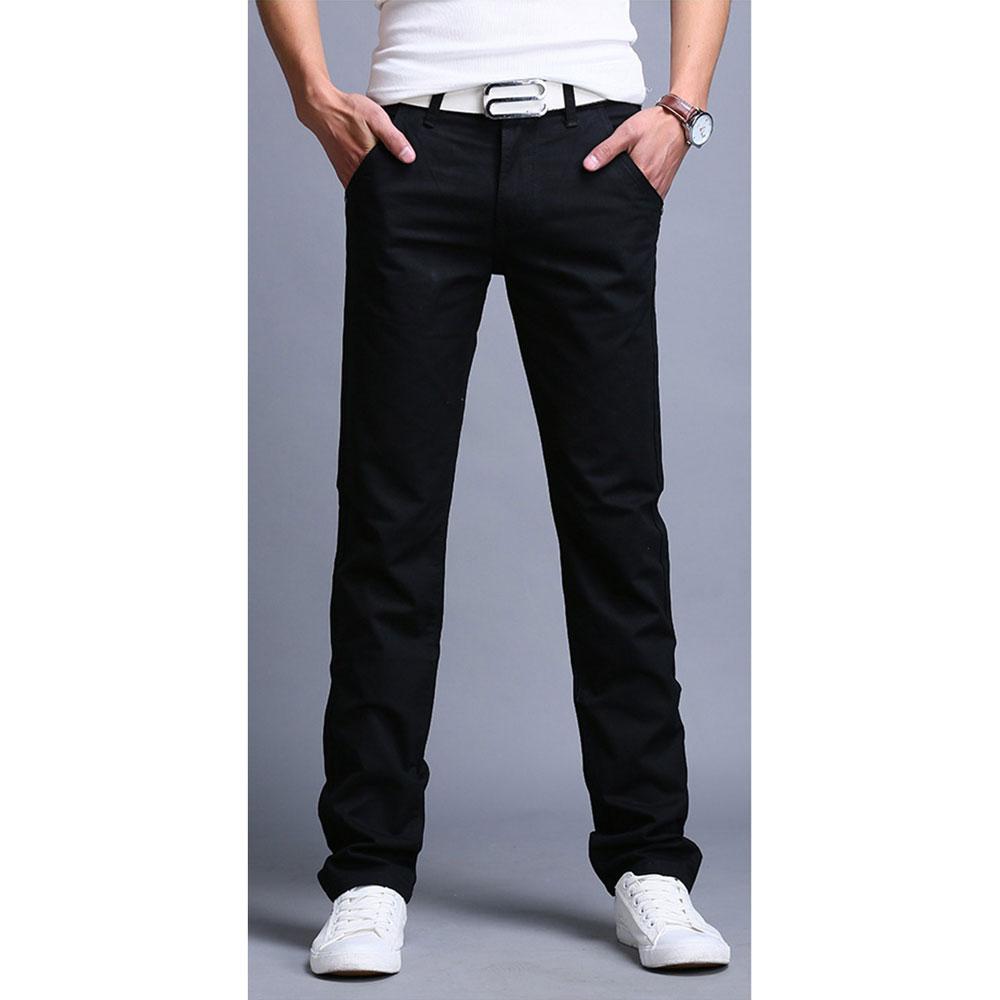 ... Celana Chinos Panjang Pria Size 29 - Black - 1 ...