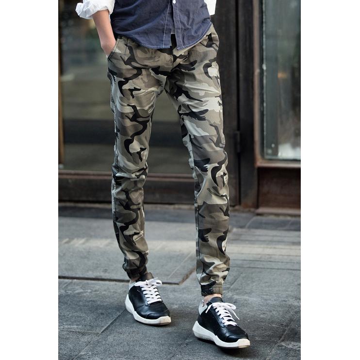 Celana Jogger Pria Batik: Celana Jogger Pria Motif Tentara Size L