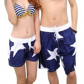 Celana Pantai Santai Pria Size L - Blue - 2