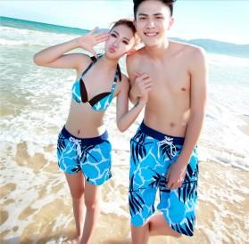 Celana Pantai Santai Pria Size XL - Sky Blue