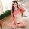 Pakaian Wanita - Baju Tidur Piyama Wanita Size XL - Pink
